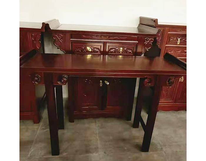 典雅老榆木贡桌