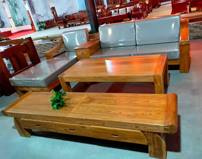 老榆木古典沙发