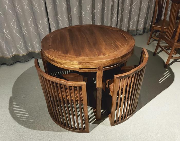 邯郸老榆木餐桌