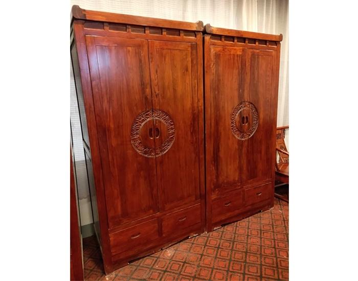 优质老榆木衣柜